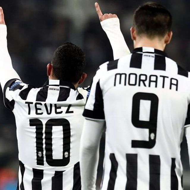 #9 #10 | Carlitos #Tevez e Alvaro #Morata