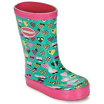 50% OFF these girls wellies by Havaianas #shoes #boots #wellies #childrens #havaianas #outlet #sale #uk