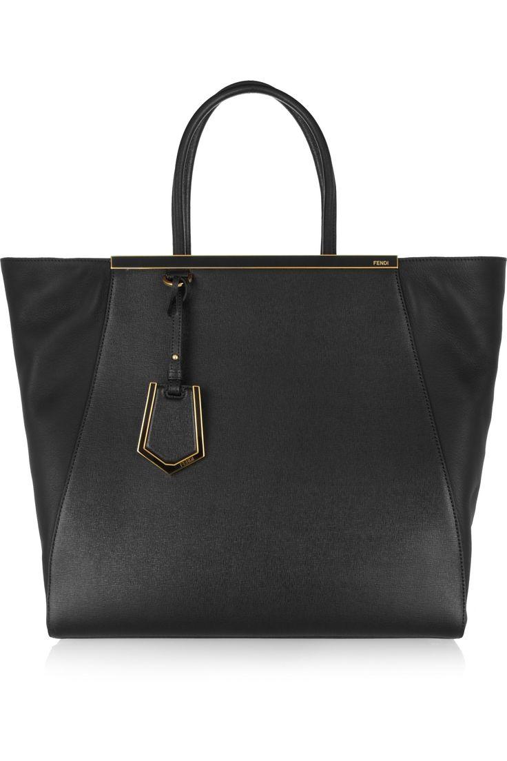 Love leather clutch - Black Fendi B9uQpHklmP