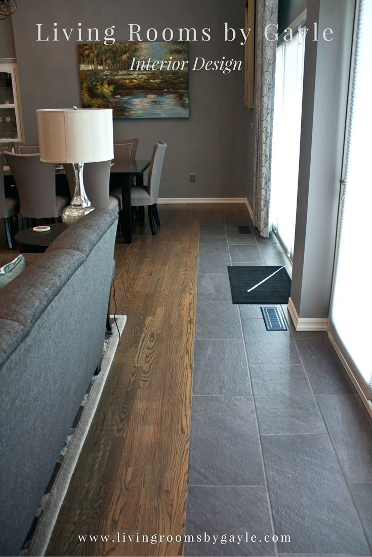 Tile To Wood Transition