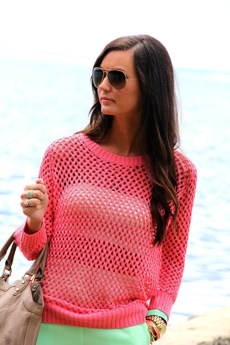 Коралловый пуловер от Zara. Обсуждение на LiveInternet - Российский Сервис Онлайн-Дневников
