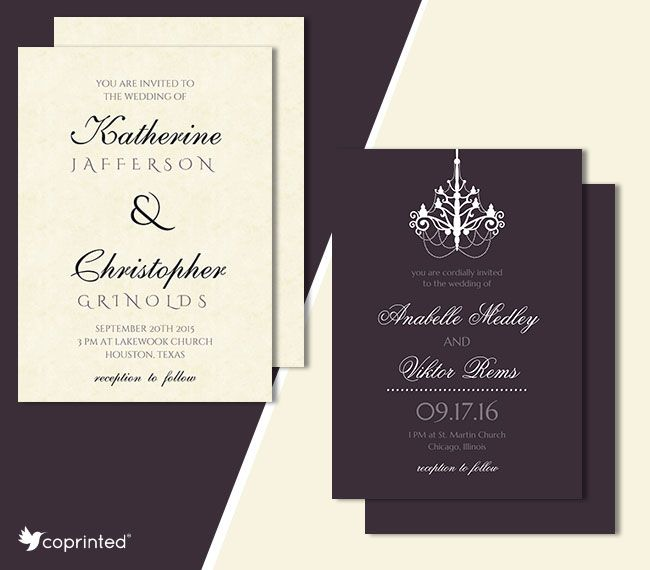 175 best Free Wedding Invitations Templates images on Pinterest