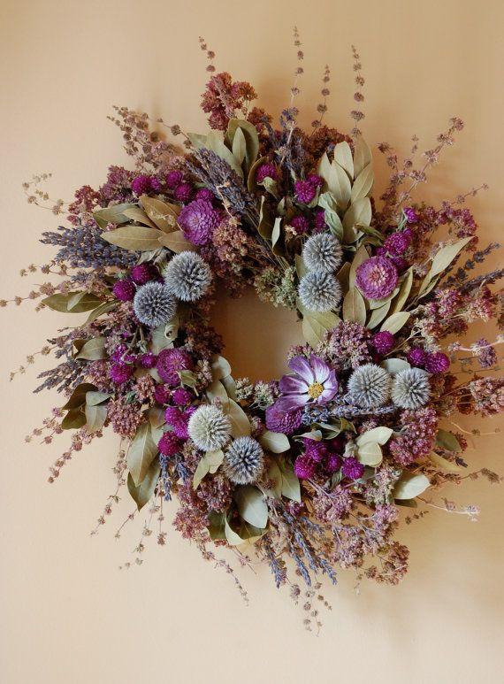 24 Inch Fragrant Herbal Wreath