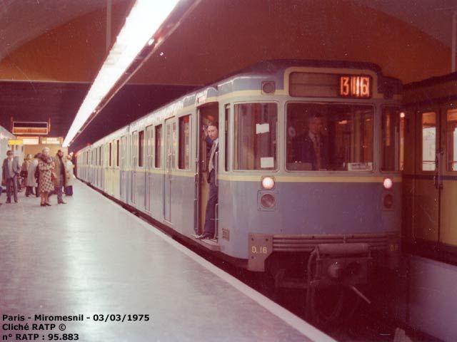 Metro Miromesnil, Paris 1975