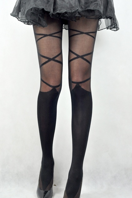 Never too old for tights.  -->Am I too old for these tights?