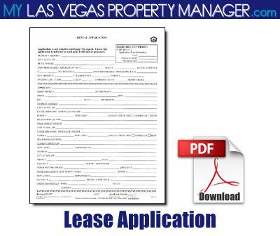 thomson real estate rental application form