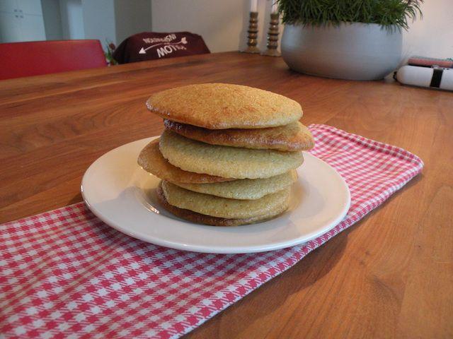 Dit is een lekker makkelijk en snel recept om zelf glutenvrije en suikervrije eierkoeken te maken. Met slechts vijf ingrediënten maak je deze eierkoeken.
