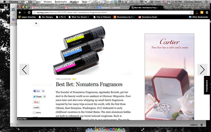 Check out Nomaterra on NYMag's the Cut!