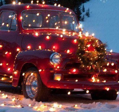 #christmas car pretty...