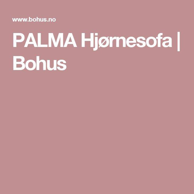 PALMA Hjørnesofa | Bohus