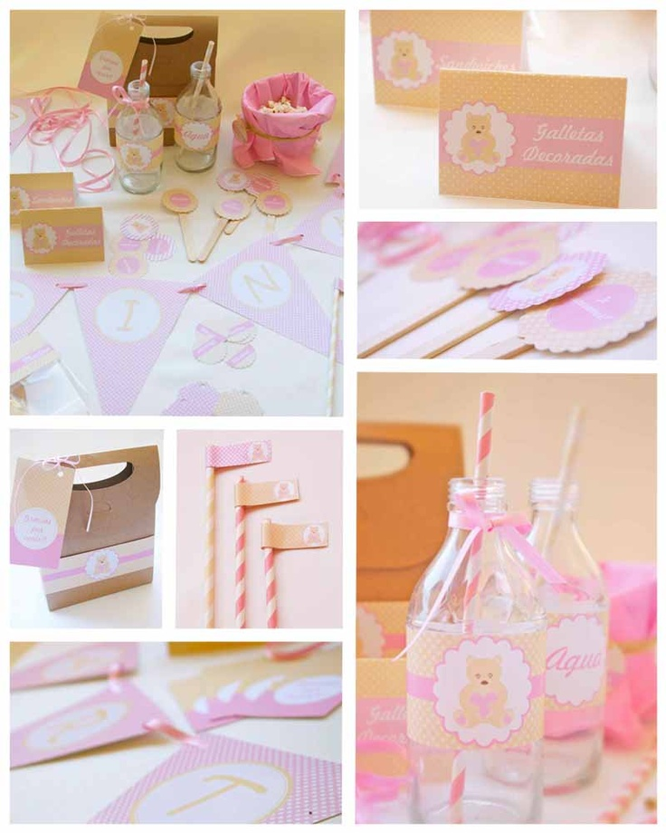 Ideas De Decoracion Para Bautizo ~ para decorar tu Baby Shower Decoraci?n Bautizo, Bautizo