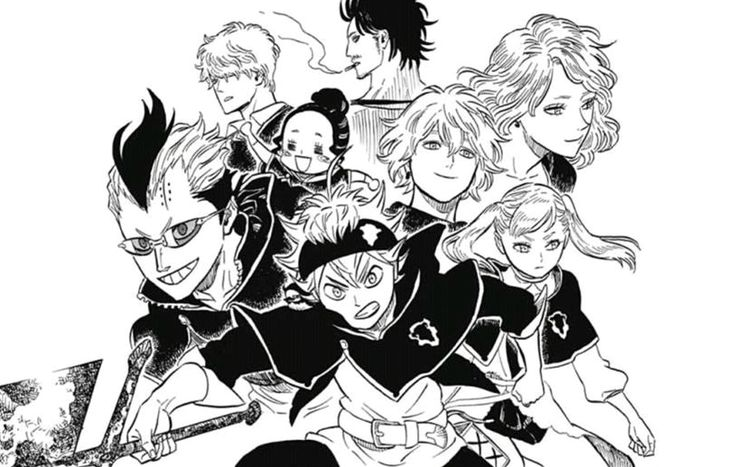 Aster & Black sheep ~ Black clover (Manga)