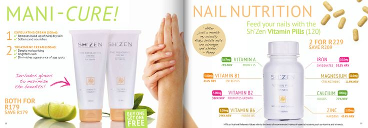 For beautiful hands and nails