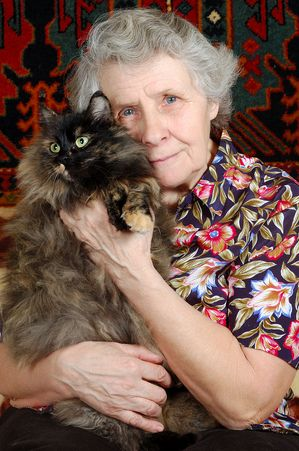 The Pets For The Elderly Foundation is a non-profit foundation that gives an unwanted shelter animal to a lonely elderly person. Pets offer affection,unconditional love,fight loneliness, and can help ease the loss of a loved one.....way to go to this organization!