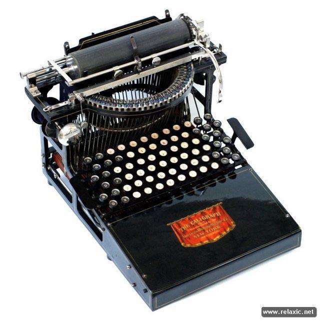 Старинные пишущие машинки (49 фото) | Релаксик