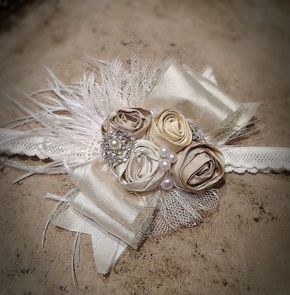 Our elegant Emma Cat headband by MylittleHalos on Etsy