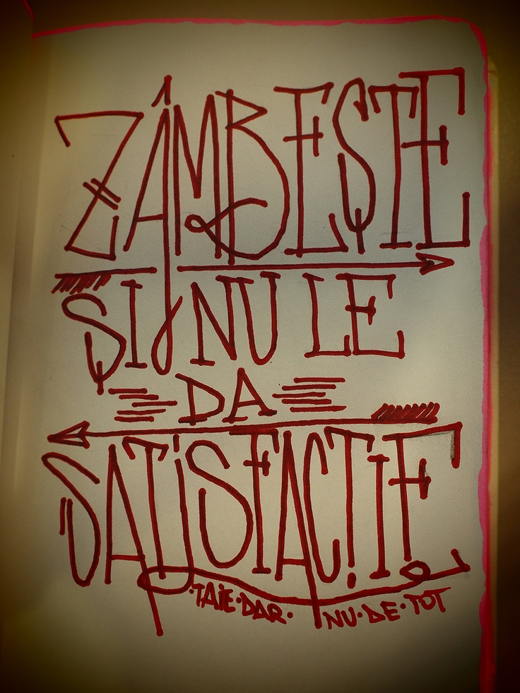 Zambeste si nu le da satisfacie.    Smile and don't give them satisfaction.    http://www.taiedarnudetot.ro    http://www.facebook.com/cherestea