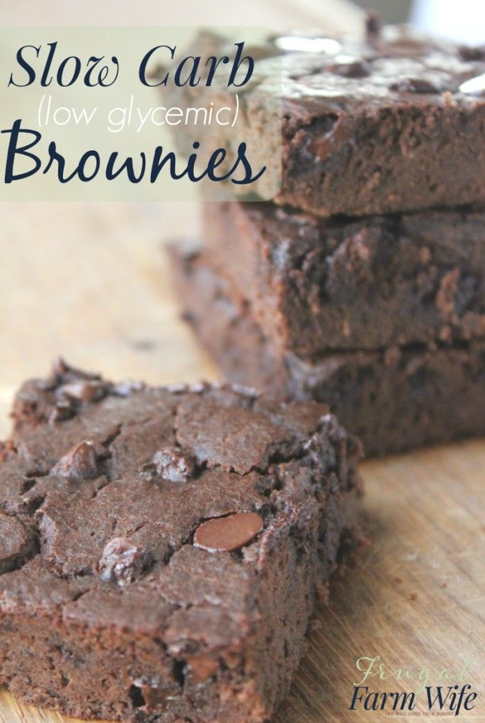 These slow carb brownies are fabulous! They manage to be sweet, and decadent while using a zero calorie sweetener and NO white carbs!