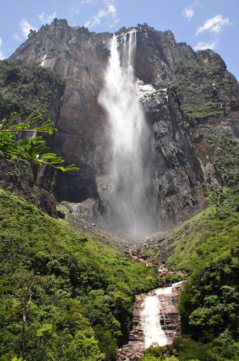 世界最大の落差979m、ベネズエラのエンジェルフォールを真下から仰ぎ見る!   ベネズエラ   トラベルjp<たびねす>