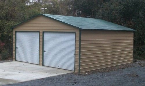 Best 24X36 Vertical Roof Metal Garage Ct Ma De Dc In Md 400 x 300