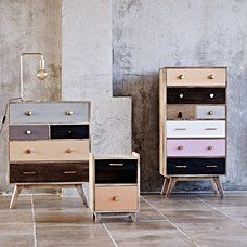 Buy the Keira Wooden Chest of Drawers at Oliver Bonas. We deliver Homeware throughout the UK within 5-12 working days from £35.