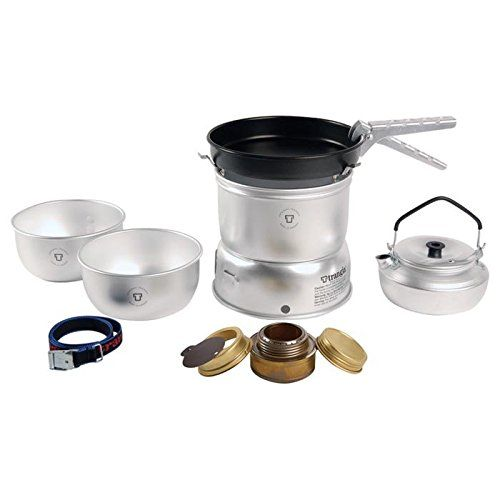 TRANGIA 27-4 Ultralight Alcohol Stove Kit with Kettle *** Additional details at the pin image, click it  : Camping equipment
