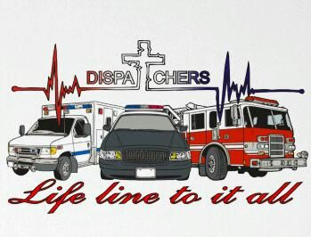 Love This For All My Dispatchers! Love Ya Guys And Thank You For All That ·  Police ...