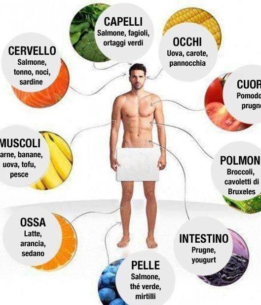 Alimenti che fanno bene all'organismo