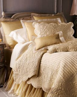 Fanny Quilts & Organza Accessories Organza Sham - traditional - shams - by Horchow GORGEOUS!!!
