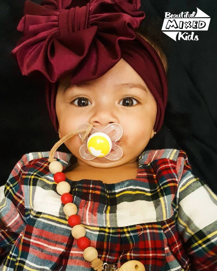 Sovi - 6 Months • Mom: African American • Dad: Irish ♥️ FOLLOW @BEAUTIFULMIXEDKIDS http://instagram.com/beautifulmixedkids