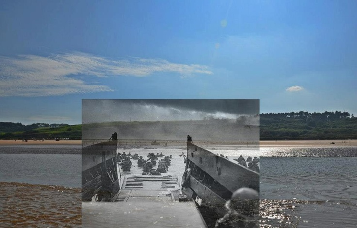 history of d day beaches