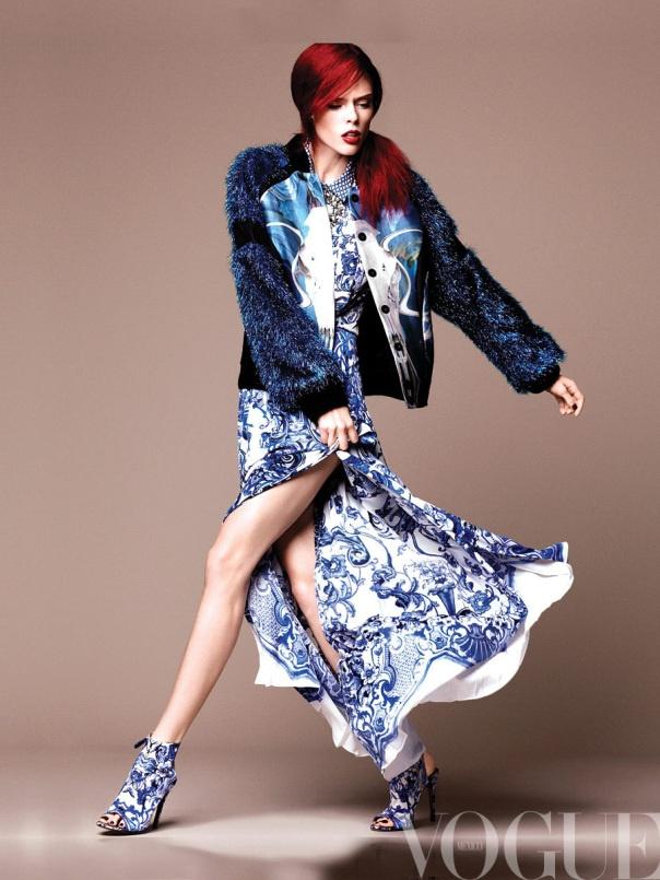 Coco Rocha by Regan Cameron for Vogue Mexico