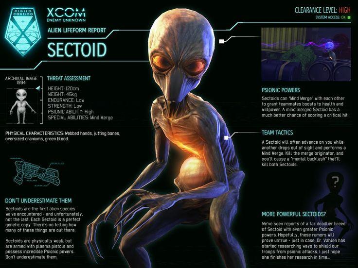Sectoid (XCOM: Enemy Unknown) - XCOM Wiki