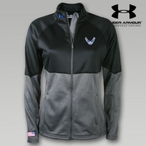 Under Armour Air Force Womens Fleece Jacket So Cute! + great site for usaf apparel