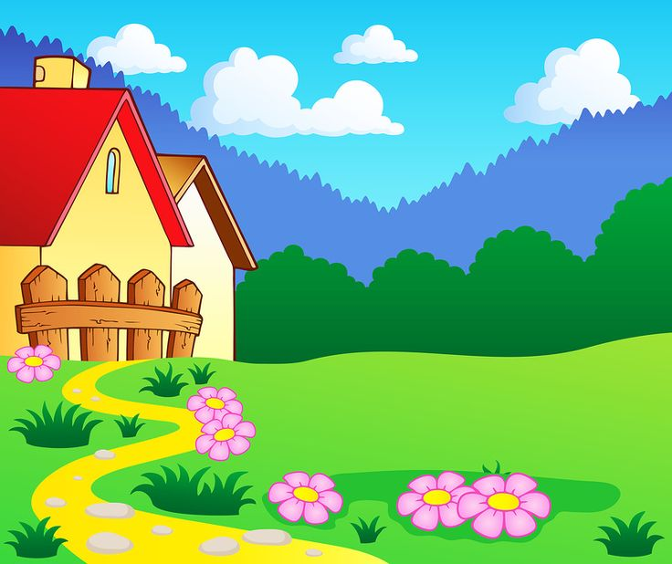 228 Best Images About Cartoon Landscape Background On