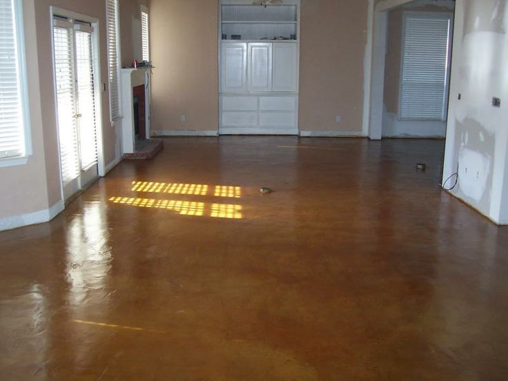 Acid Etching Concrete Stain | Acid staining