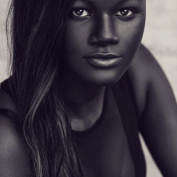 Model Khoudia Diop _ Dark is stunningly beautiful!!!