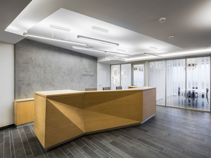 Комфортный и стильный дизайн офиса банка «Зенит»