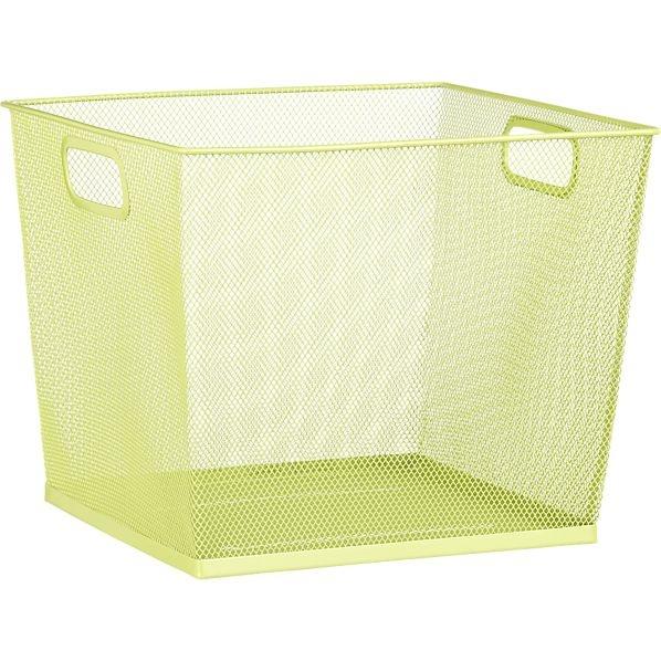 Green Mesh Bin In Accessories