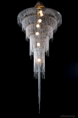 Willowlamp :: willowlamp - droplet chandelier