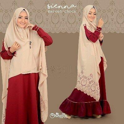 SIENNA By Oribelle Hijab Style  Perpaduan basic dress  dengan aksen lipit dibagian bawah dress dan list kecil yang manis & khimar one layer dengan motif lasercut yang unik.  MATERIAL  DRESS : COTTON ZHEGNA HIGH QUALITY ( Sejenis ballotelly kualitas premium lebih lembut jatuhtidak menerawang adem & nyaman dikenakan)  KHIMAR KARDI INSTAN : SUPERCREPE HEAVENSTAR (sejenis crepe tidak menerawang jatuh adem nyaman dikenakan dengan motif lasercut yang cantik)  Dress dengan model simple & cutting yg…
