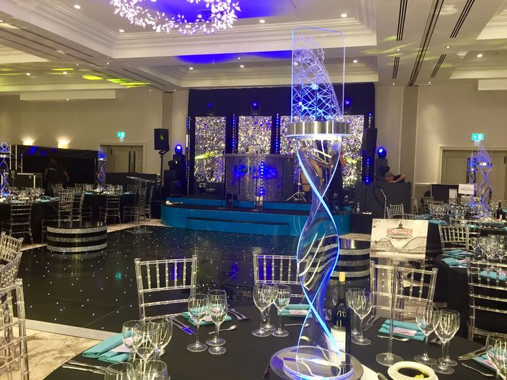 Light up your event with fun rollercoaster themed centrepieces