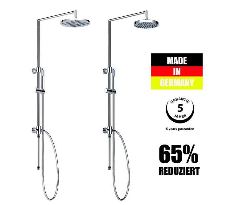 Aufputz Duscharmatur Duschsäule Duschset Duschsystem Regendusche Kopfbrause in Heimwerker, Bad & Küche, Armaturen | eBay