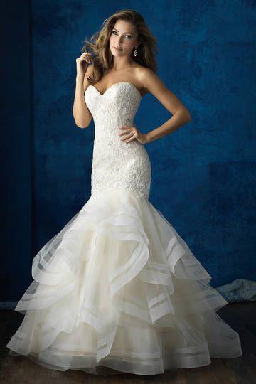Wedding dresses, Madison James, bridal designer, Allure Bridals 9364