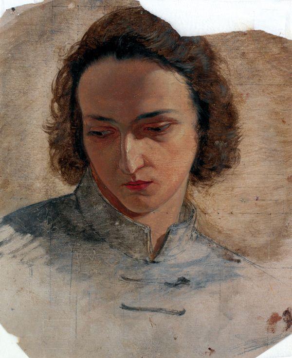 Portrait by Josef Mánes.