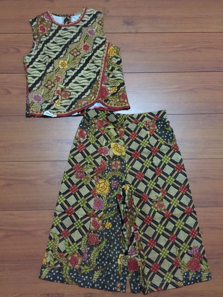 Batik katun sragen pagi sore. Batik Indonesia