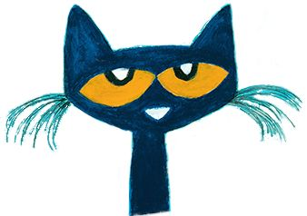 Pete the Cat is a groovy, blue cat. No matter where he goes, Pete the Cat always keeps his cool. http://www.petethecatbooks.com