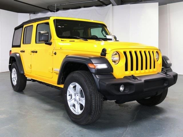 2019 Jeep Wrangler Unlimited Unlimited Sport S For Sale In