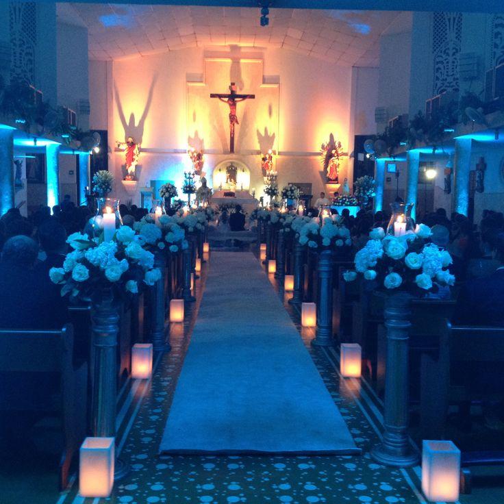 Iglesia perpetuo Socorro Bocagrande wedding