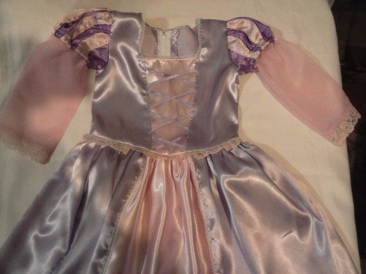 Disfraz De Rapunzel Para Niñas - $ 420,00 en MercadoLibre
